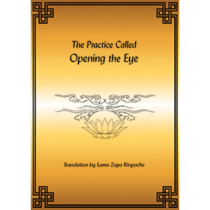 Chenrezig, Opening the Eye PDF