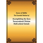 Garuda Multi-colored, Sadhana of Transcendental Wisdom PDF