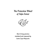 Vajra Armor- The Protection Wheel - Long & Short Practice (bklt_a4)