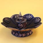 Antiqued Copper Incense Burner