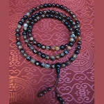 Brown Agate Mala