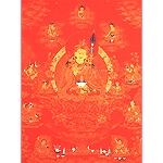 Padmasambhava And His Eight Manifestations Card