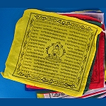 Medicine Buddha Prayer Flag - String of 5