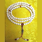 Mother Pearl with Carnelian Divider Beads