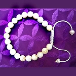 Mother Pearl Wrist Mala