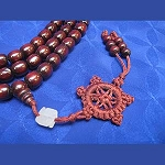 Rosewood Egg Shaped Mala - Large