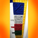Wind Horse Pole Prayer Flag
