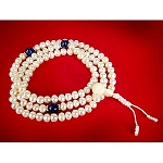Pearl Mala - Lapis Dividers
