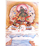 Green Tara Card by Lama Zopa Rinpoche