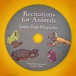 Recitations for Animals - CD