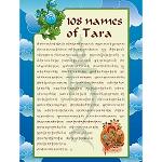 108 Names of Tara Downloadable Card