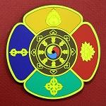 Five Buddha Families Non-Slip Pad