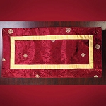 Altar Cloth Brocade Maroon