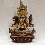 White Tara Statue 8 Inch