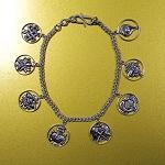 Eight Auspicious Symbols Charm Bracelet