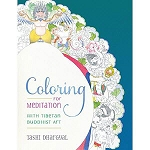 Coloring For Meditation With Tibetan Buddhist Art