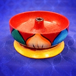 Cup Painted Incense Holder