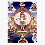 Thousand-Armed Avalokiteshvara Poster