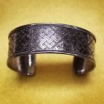 Endless Knot Cuff Bracelet