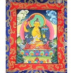Manjushri Thangka Extra Small