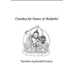 Chanting the Names of Ma�jushri (bklt_lttr)