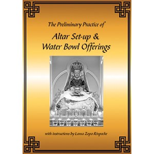 The Preliminary Practice of Altar Set-up & Water Bowl Offerings PDF
