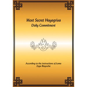Hayagriva, Most Secret - Daily Commitment (bklt_lttr)