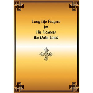 Long Life Prayer for His Holiness Dalai Lama PDF