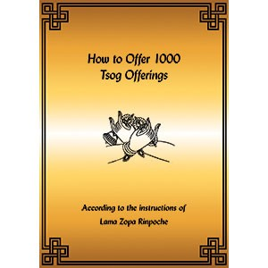 How to Offer 1,000 Tsog Offerings PDF