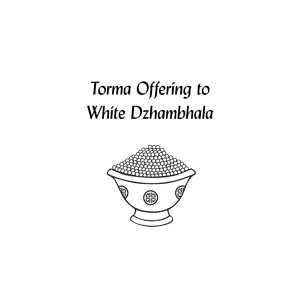 Torma Offering to White Dzambhala PDF