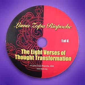 Eight Verses of Thought Transformation - DVD