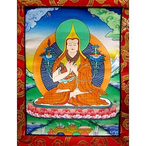 Lama Tsongkhapa Thangka XS (seconds)