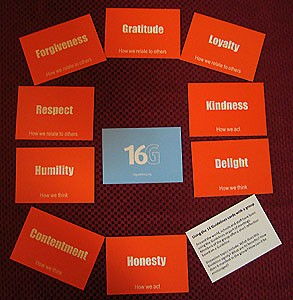 Set of 16 Guidelines Cards