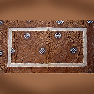 Altar Cloth Brocade - Endless Knot