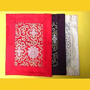 Altar Cloth Brocade - Lotus
