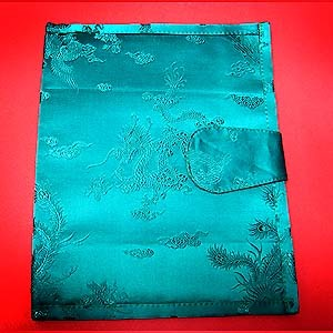 Book Cover - Silk Brocade Dragon Pattern