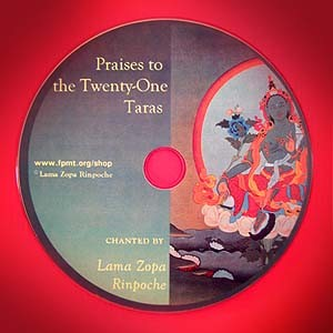 Praises to the Twenty-One Taras CD