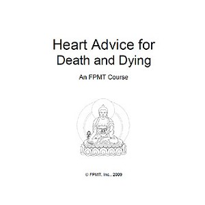 Heart Advice for Death and Dying, program for centers (PDF)