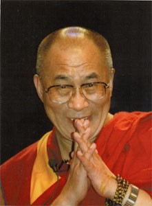 His Holiness the Dalai Lama Card