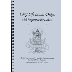 Long Life Lama Chopa with Request to the Dakinis