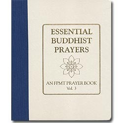 Essential Buddhist Prayers Volume III with Linen Binder