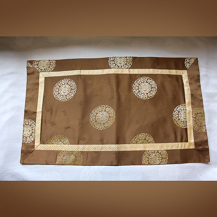 Homeu003eMeditation Suppliesu003eTable Cloths U0026 Brocades U003e Altar Cloth Brocade    Tibetan Geometric Motif