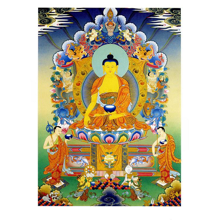 shakyamuni buddha poster. Black Bedroom Furniture Sets. Home Design Ideas