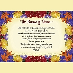 The Practice of Virtue - Downloadable Card