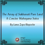 The Array of Sukhavati Pure Land: A Concise Mahayana Sutra - MP3 Download