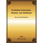 Prostration Instructions, Mantras, and Meditation PDF