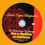 How to Meditate on Emptiness - MP3 Download