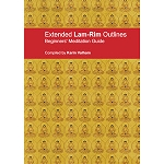 Lamrim Outlines: Extended Beginner's Meditation Guide PDF