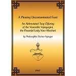 An Abbreviated Vajrayogini Tsog: A Pleasing Uncontaminated Feast eBook & PDF