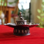 Antiqued Copper Incense Holder